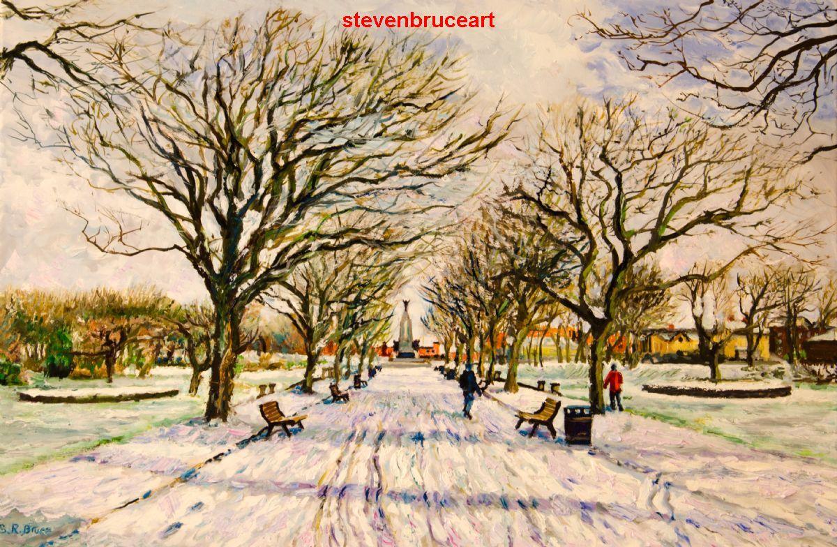 steven robert bruce blackpool artist in oils